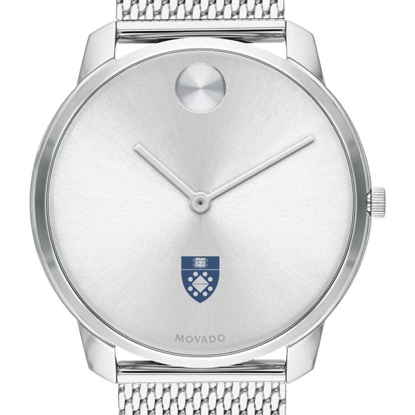 Yale School of Management Men's Movado Stainless Bold 42 - Image 1