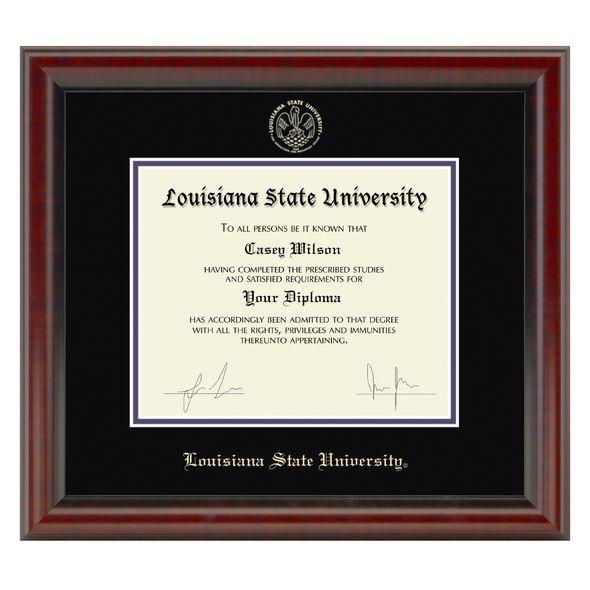 LSU Diploma Frame, the Fidelitas - Image 1