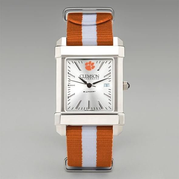 Clemson Collegiate Watch with NATO Strap for Men - Image 2