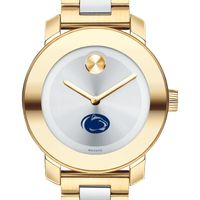 Penn State University Women's Movado Two-Tone Bold