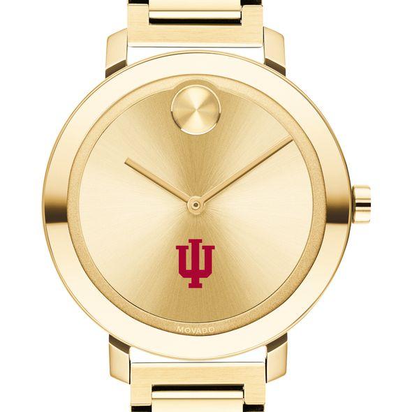 Indiana University Women's Movado Gold Bold 34