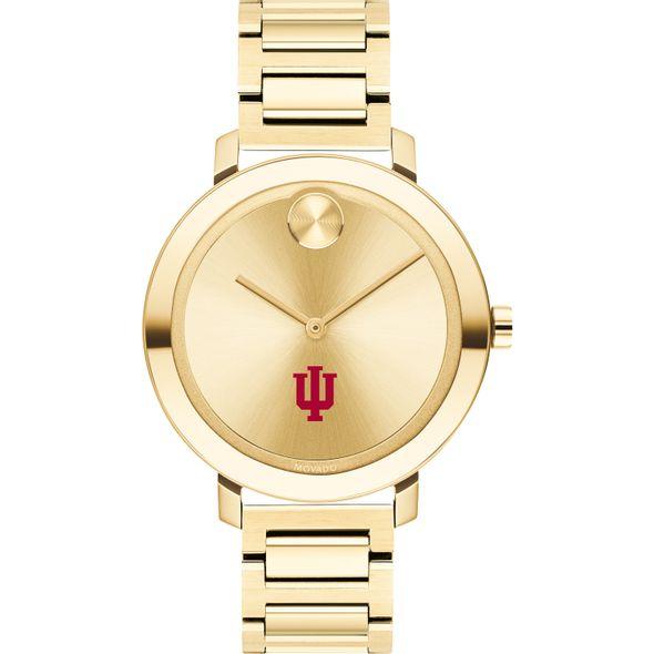 Indiana University Women's Movado Gold Bold 34 - Image 2
