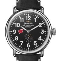 Wisconsin Shinola Watch, The Runwell 47mm Black Dial