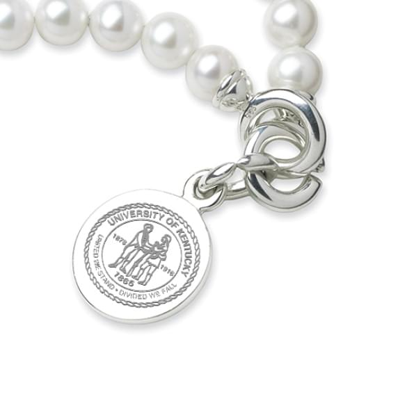 Kentucky Pearl Bracelet with Sterling Silver Charm - Image 2