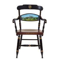 Hand-painted Georgetown University Campus Chair by Hitchcock