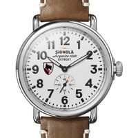 Carnegie Mellon Shinola Watch, The Runwell 41mm White Dial