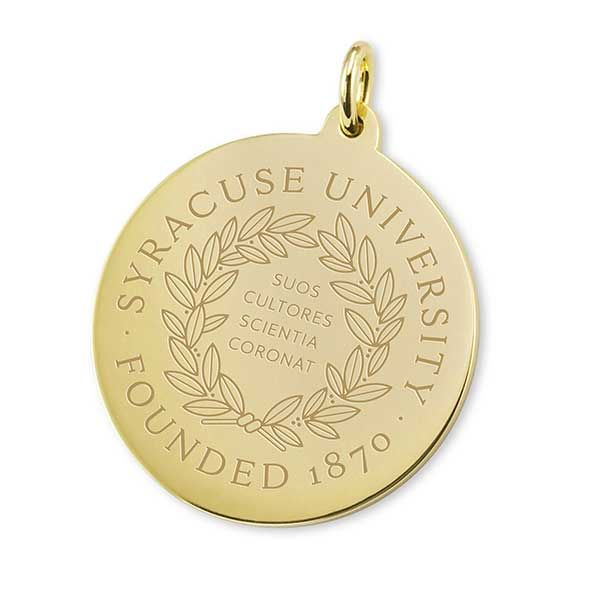 Syracuse University 18K Gold Charm - Image 1