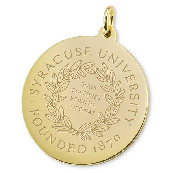 Syracuse University 18K Gold Charm - Image 2