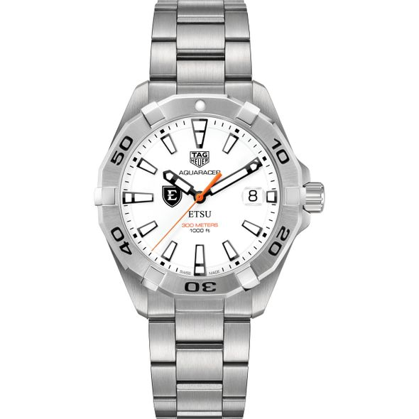 East Tennessee State University Men's TAG Heuer Steel Aquaracer - Image 2