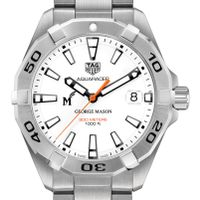 George Mason University Men's TAG Heuer Steel Aquaracer