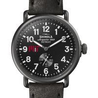 MIT Shinola Watch, The Runwell 41mm Black Dial