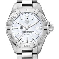 Pittsburgh Women's TAG Heuer Steel Aquaracer with MOP Dial