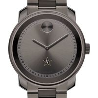 Vanderbilt University Men's Movado BOLD Gunmetal Grey