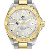 SFASU Men's TAG Heuer Two-Tone Aquaracer