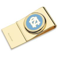 University of North Carolina Enamel Money Clip