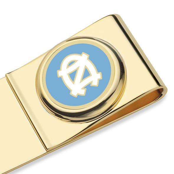 University of North Carolina Enamel Money Clip - Image 2