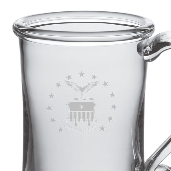 USAFA Glass Tankard by Simon Pearce - Image 2