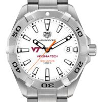Virginia Tech Men's TAG Heuer Steel Aquaracer