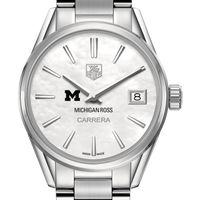Michigan Ross Women's TAG Heuer Steel Carrera with MOP Dial