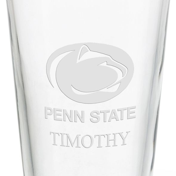 Penn State University 16 oz Pint Glass - Image 3