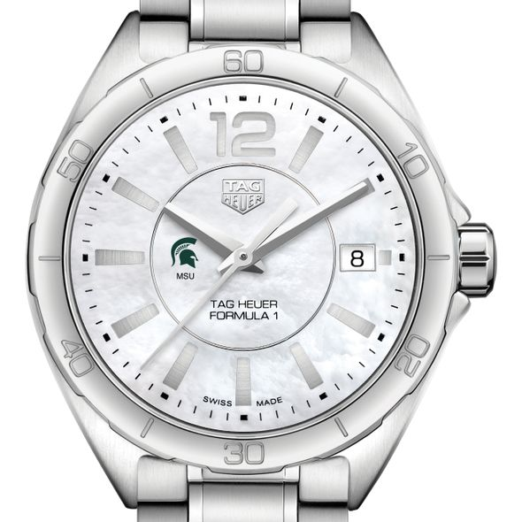 Michigan State University Women's TAG Heuer Formula 1 with MOP Dial - Image 1