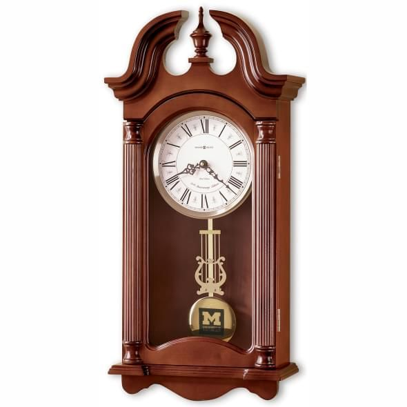 Michigan Howard Miller Wall Clock