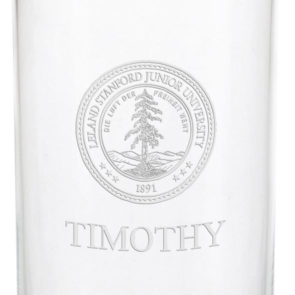 Stanford University Iced Beverage Glasses - Set of 4 - Image 3