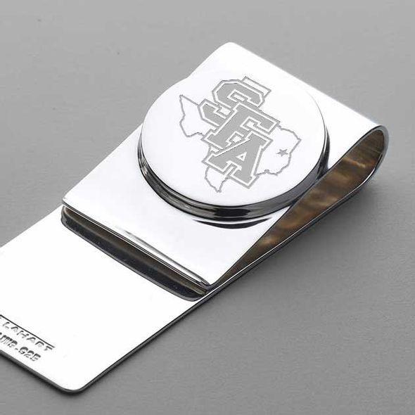 SFASU Sterling Silver Money Clip - Image 2