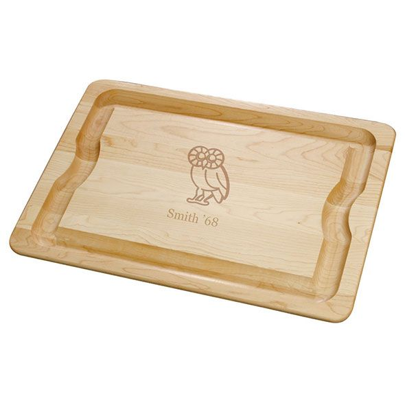 Rice University Maple Cutting Board