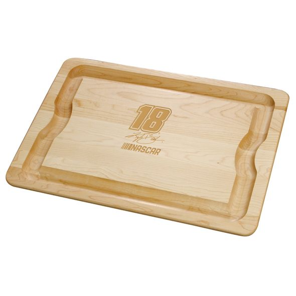 Kyle Busch Maple Cutting Board