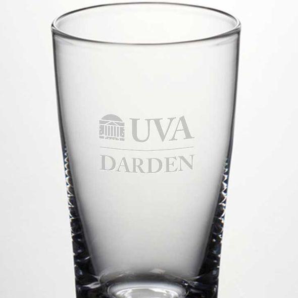 UVA Darden Ascutney Pint Glass by Simon Pearce - Image 2