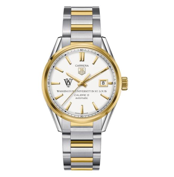 WUSTL Men's TAG Heuer Two-Tone Carrera with Bracelet - Image 2