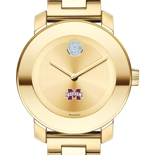 Mississippi State Women's Movado Gold Bold