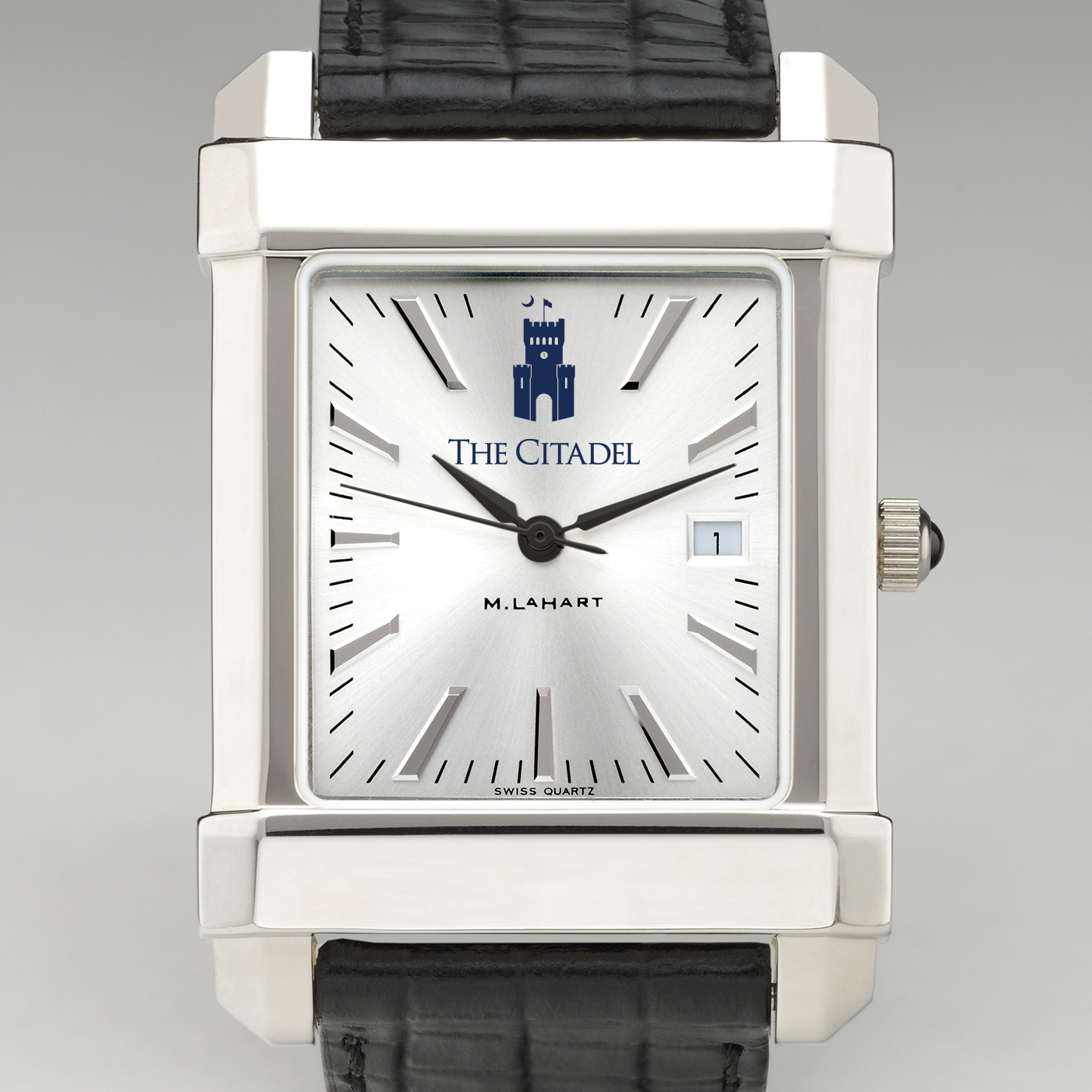 Citadel Men's Collegiate Watch with Leather Strap