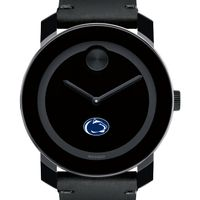 Penn State Men's Movado BOLD with Leather Strap