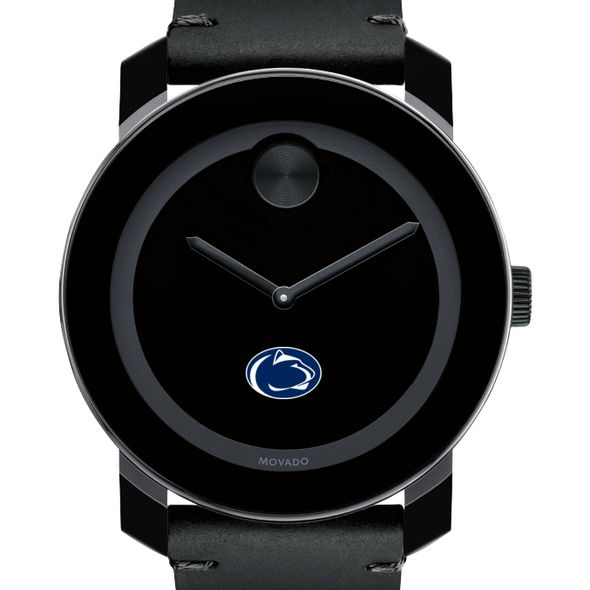 Penn State University Men's Movado BOLD with Leather Strap