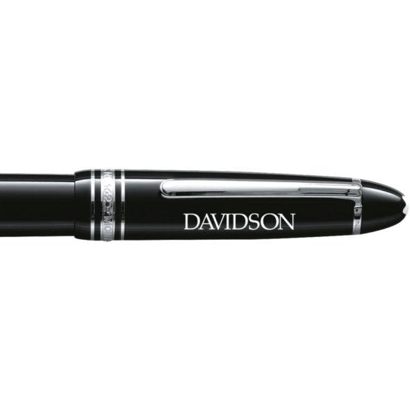 Davidson College Montblanc Meisterstück LeGrand Rollerball Pen in Platinum - Image 2