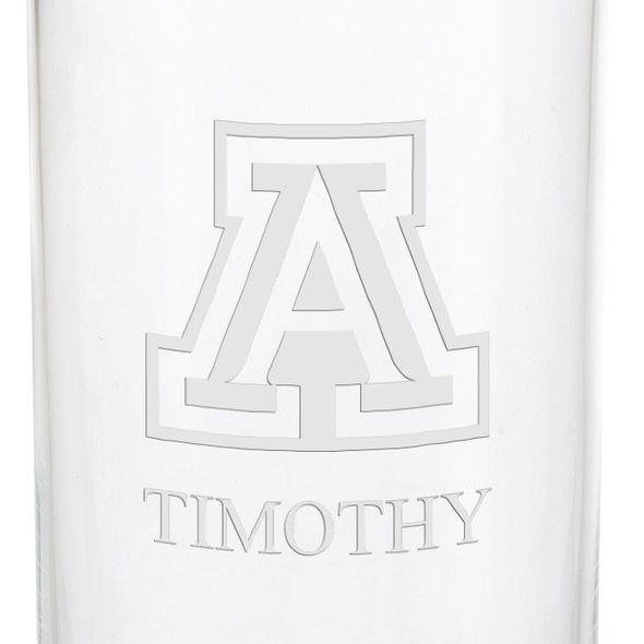 University of Arizona Iced Beverage Glasses - Set of 2 - Image 3
