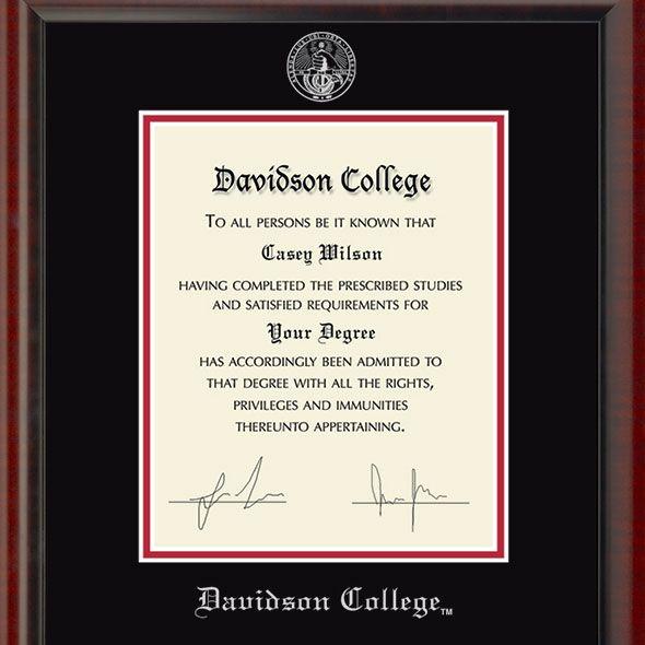 Davidson College Fidelitas Frame - Image 2