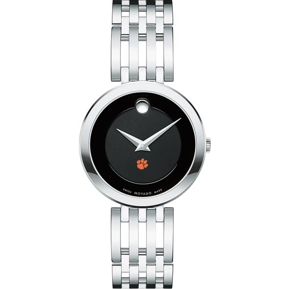 Clemson Women's Movado Esparanza Stainless Steel Museum with Bracelet - Image 2