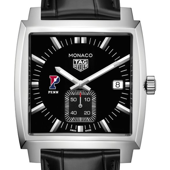 University of Pennsylvania TAG Heuer Monaco with Quartz Movement for Men - Image 1