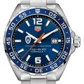 University of Wisconsin Men's TAG Heuer Formula 1 with Blue Dial & Bezel - Image 1