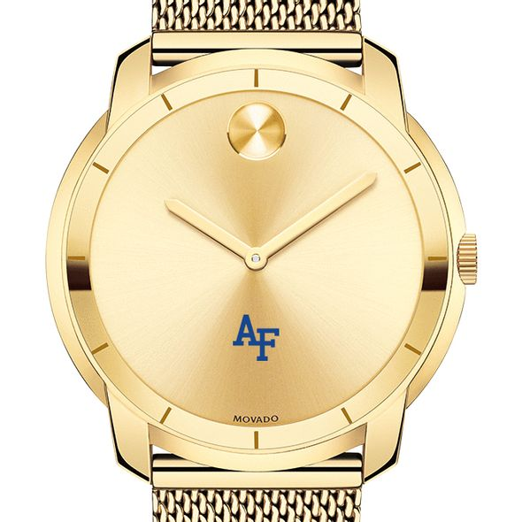 US Air Force Academy Men's Movado Gold Bold 44