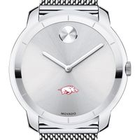 University of Arkansas Men's Movado Stainless Bold 44