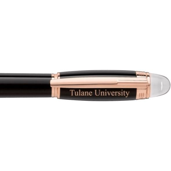 Tulane University Montblanc StarWalker Fineliner Pen in Red Gold - Image 2