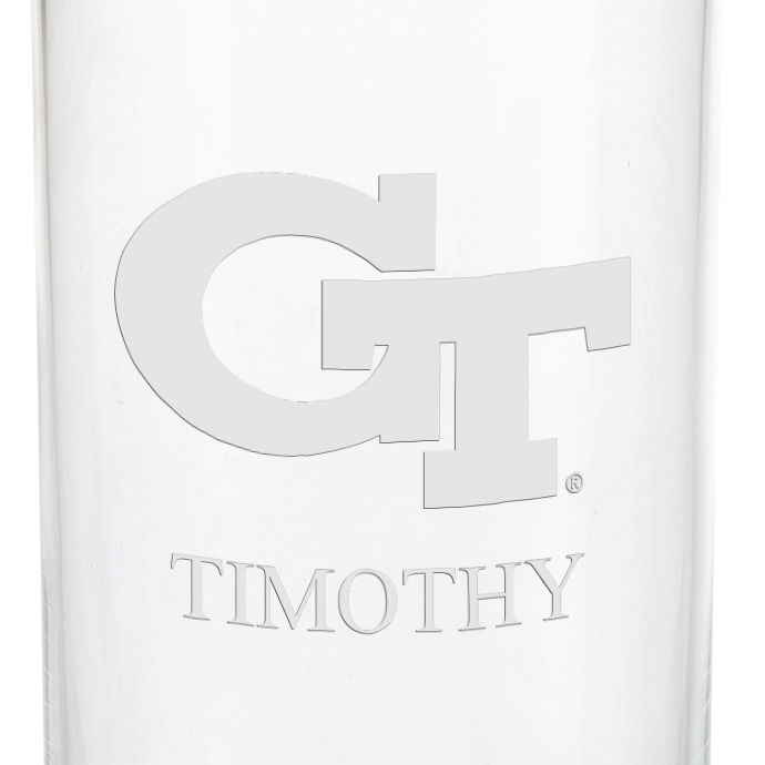 Georgia Tech Iced Beverage Glasses - Set of 4 - Image 3