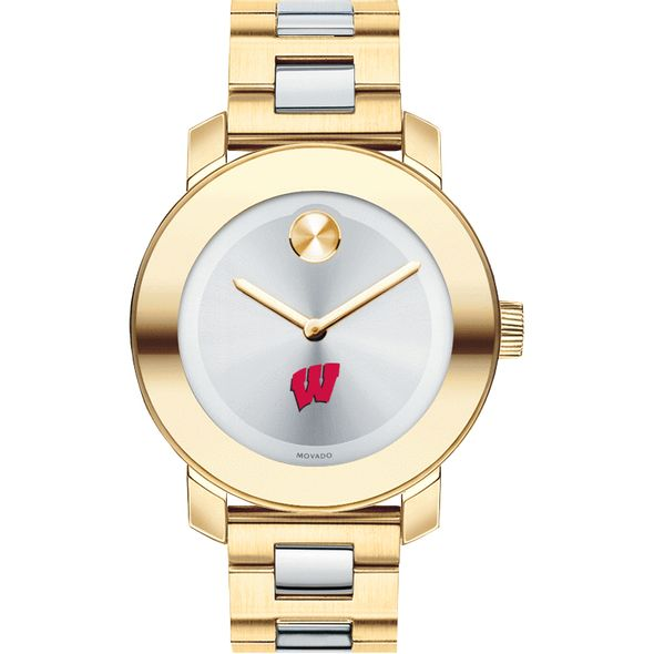 University of Wisconsin Women's Movado Two-Tone Bold - Image 2