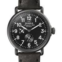 Northeastern Shinola Watch, The Runwell 41mm Black Dial