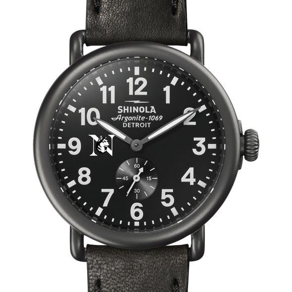 Northeastern Shinola Watch, The Runwell 41mm Black Dial - Image 1