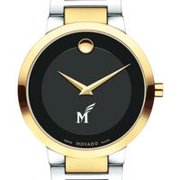 George Mason University Men's Movado Two-Tone Modern Classic Museum with Bracelet